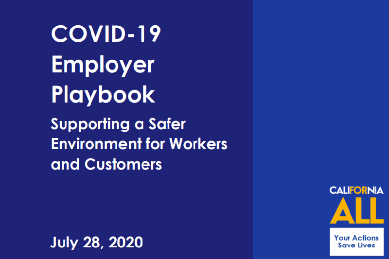 California's COVID-19 Employer Playbook